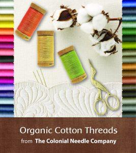 CNC's Organic Cotton Thread Color Selection