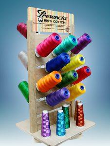 Presencia Cones on a Rack