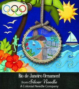 Silver Needle Rio Ornament - Item #685